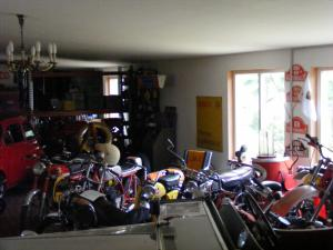 Motorräder im Museum